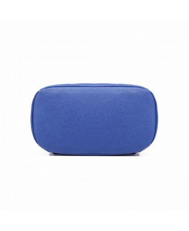 Miss Lulu elegantní modrý batoh 1669 E1669_NY