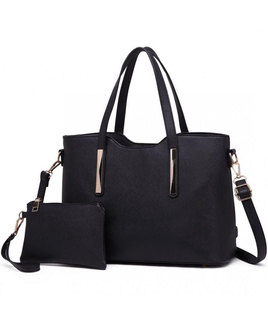 08bbc1c16c Miss Lulu černá shopper kabelka s pouzdrem 1719 S1719 BK