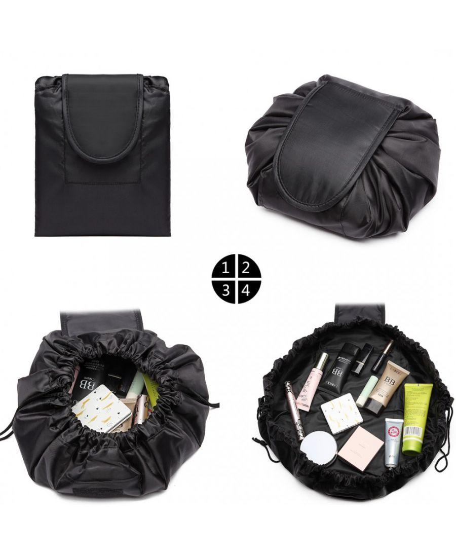 Miss Lulu kouzelná kosmetická taštička SIMPLY BLACK 1912 E1912_BK