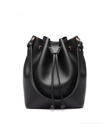2f1b364569 Miss Lulu elegantní černá hobo kabelka 6894 LH6894 BK