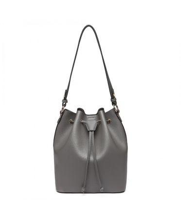 Miss Lulu elegantní šedá hobo kabelka 6894 LH6894_GY