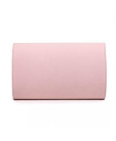 Miss Lulu růžové psaníčko se sametovým povrchem 1756 LH1756_PK