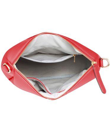 Anna Grace vínově červený elegantní batoh větší 523 AG00523_BURGUNDY