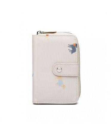 Miss Lulu dámská peněženka krémově bílá 1926 LP1926_BG