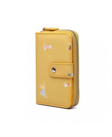 Miss Lulu dámská peněženka žlutá 1926 LP1926_YW