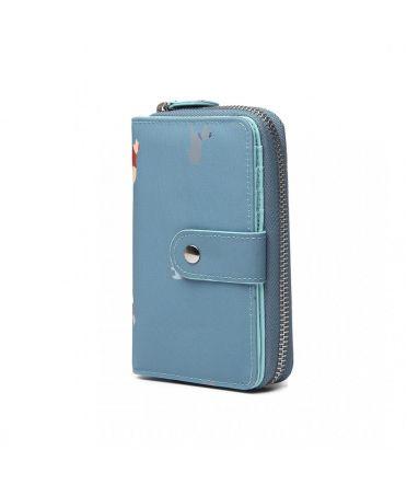 Miss Lulu dámská peněženka modrá 1926 LP1926_BE