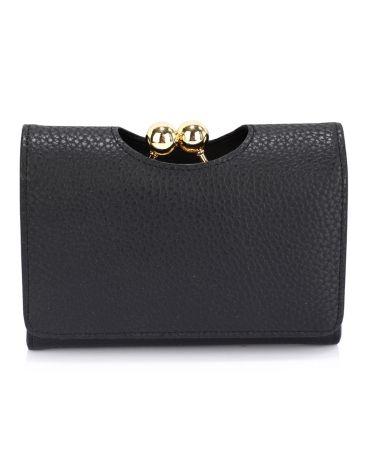 LS Fashion černá dámská peněženka 1065 LSP1065A_BLACK