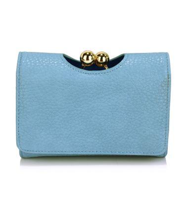 LS Fashion světle modrá dámská peněženka 1065 LSP1065A_BLUE