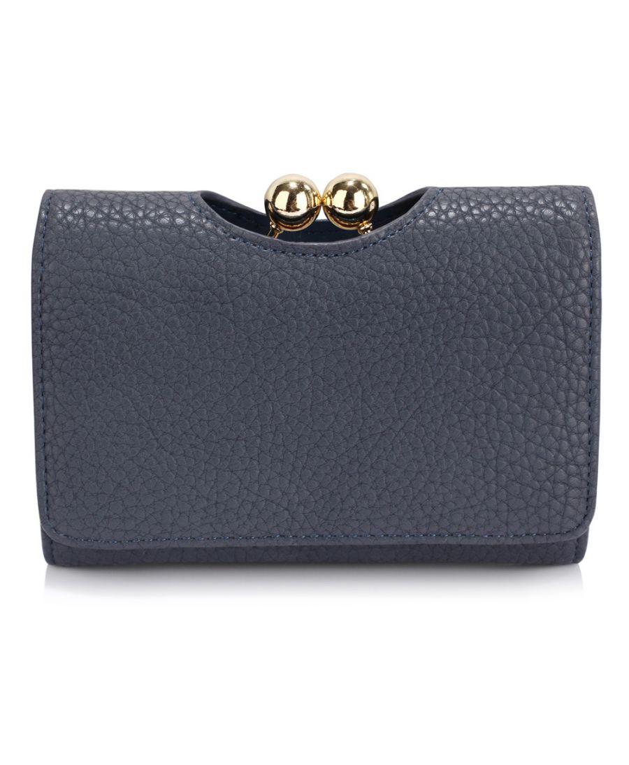 LS Fashion námořnicky modrá dámská peněženka 1065 LSP1065A_NAVY