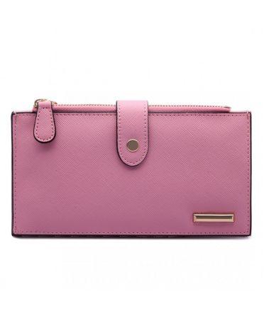 KONO růžová dámská peněženka 1690 LP1690_PK