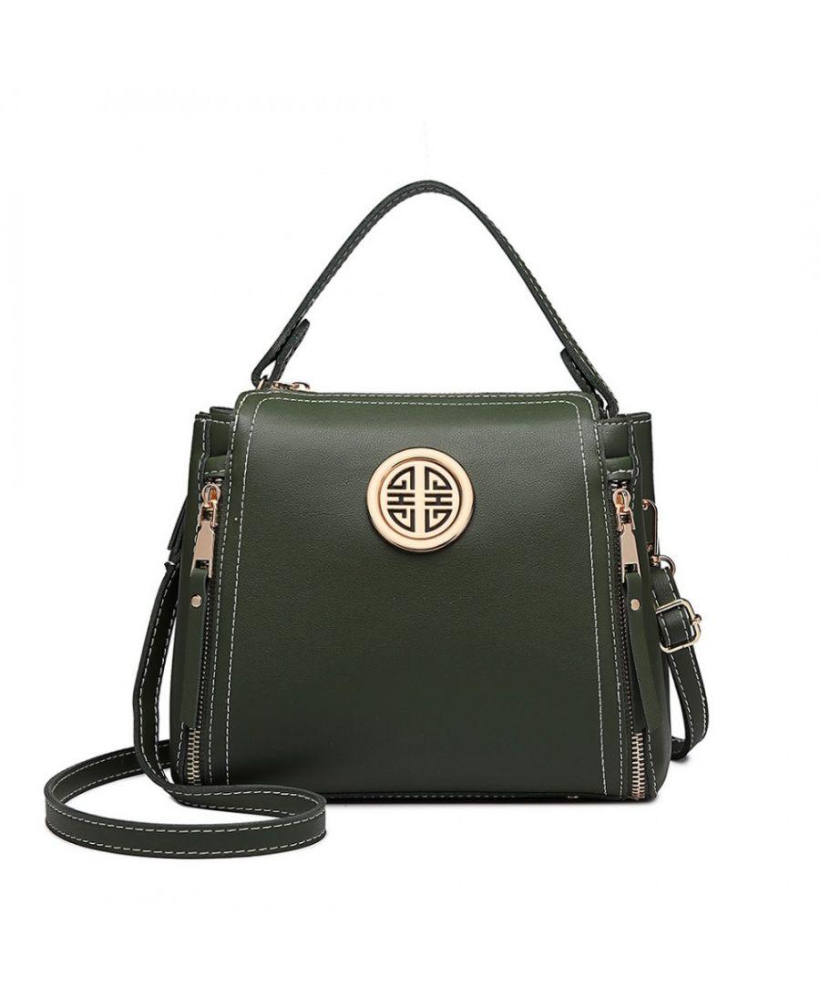 Miss Lulu tmavě zelená malá kabelka 1851 E1851_GN