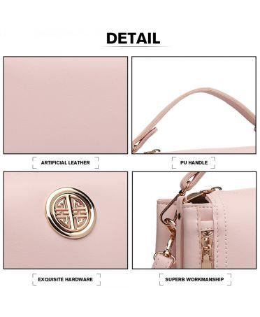 Miss Lulu růžová malá kabelka 1851 E1851_PK