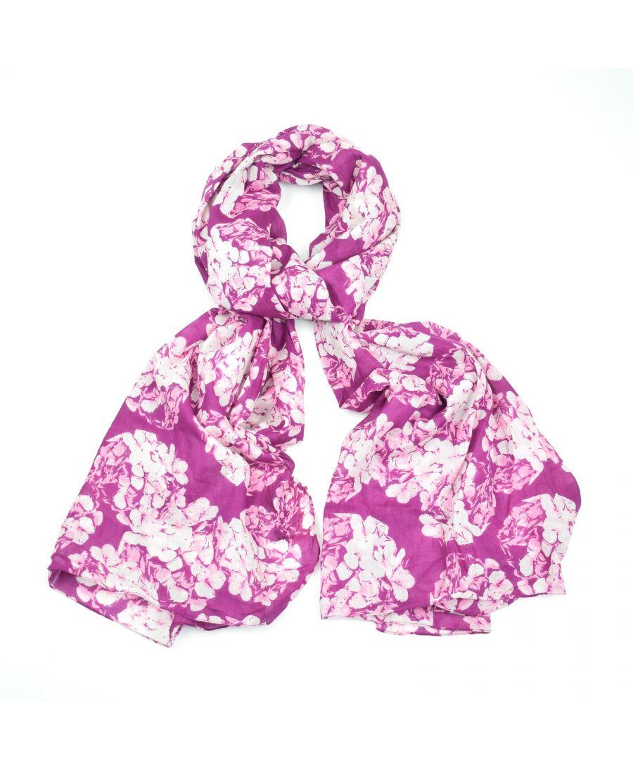 Saffron & Co růžový-bílý dámský maxi šátek Prunella 8 wd008c07
