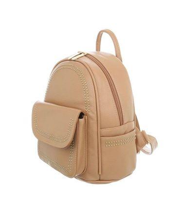 Dudlin Firenze krémový dámský mini batůžek 7822 tam7822cm