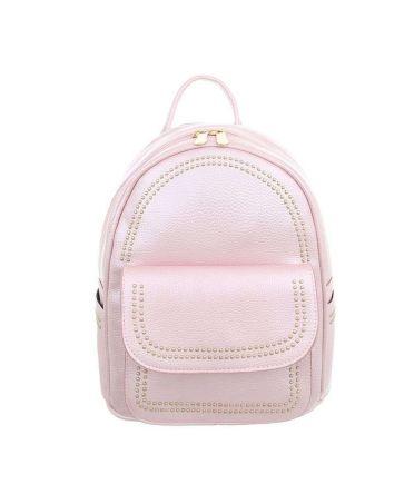 Dudlin Firenze růžový dámský mini batůžek 7822 tam7822pearlpowder
