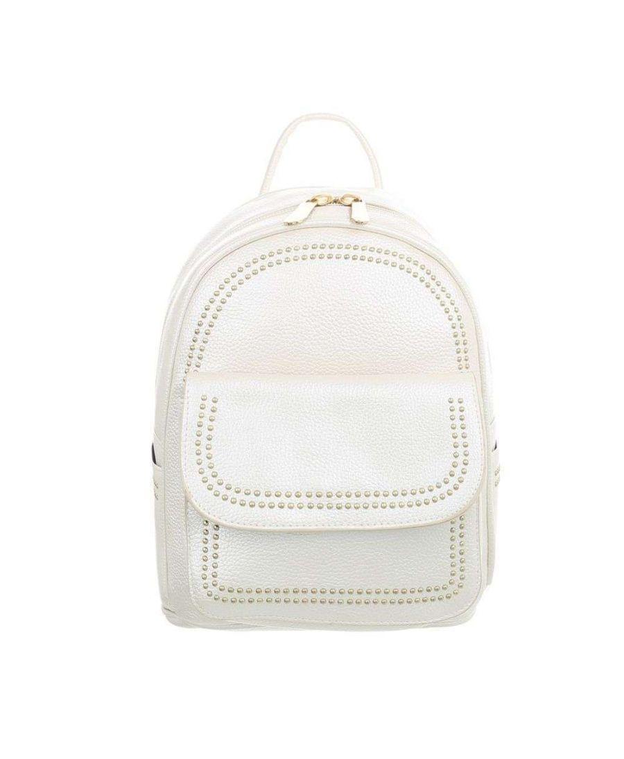 Dudlin Firenze bílý dámský mini batůžek 7822 tam7822shell