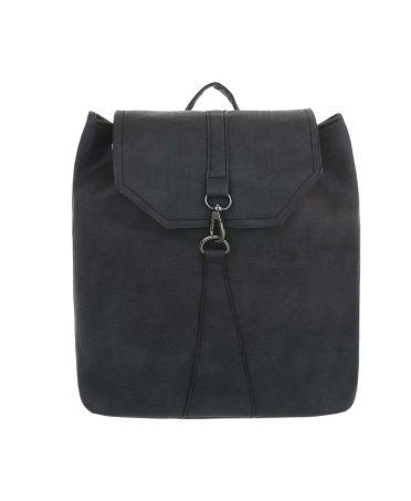 Dudlin Firenze černý dámský batoh s karabinkou 589 tac589bk