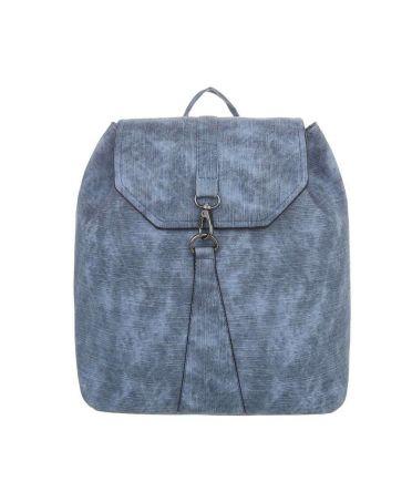 Dudlin Firenze modrý dámský batoh s karabinkou 589 tac589be