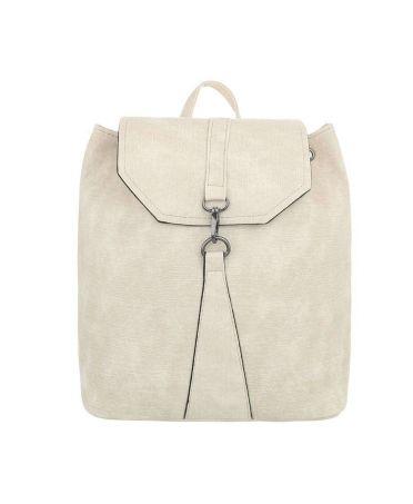 Dudlin Firenze krémový dámský batoh s karabinkou 589 tac589cm