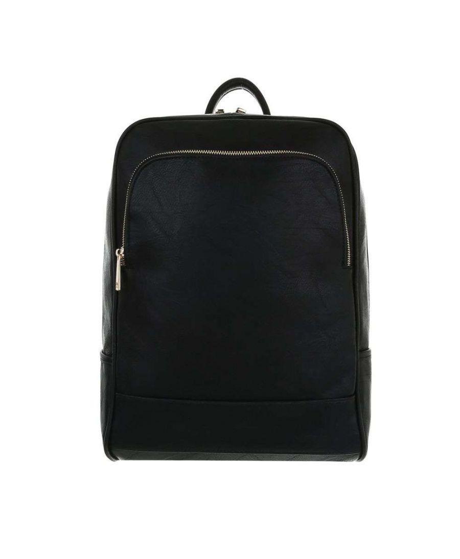 Dudlin Firenze černý lesklý batoh unisex 9135 ta913583bk
