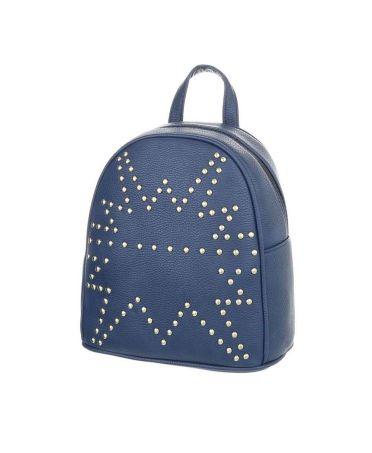 Dudlin Firenze modrý dámský mini batůžek 1099 tam1099be