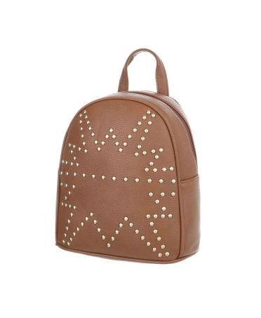 Dudlin Firenze hnědý dámský mini batůžek 1099 tam1099bn