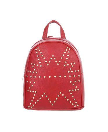 Dudlin Firenze červený dámský mini batůžek 1099 tam1099rd