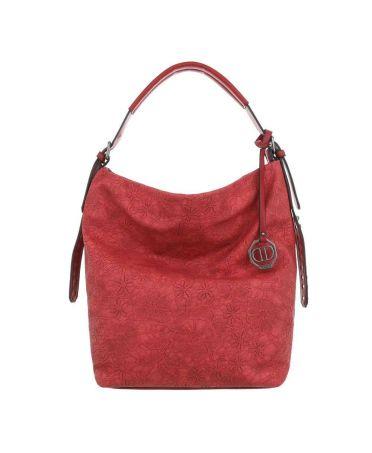 Dudlin Firenze červená kabelka přes rameno embroidery 9335 ta93355rd