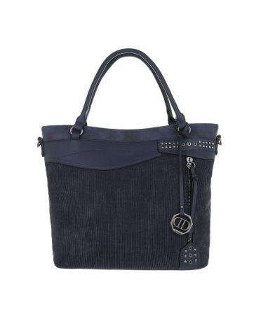 Dudlin Firenze tmavě modrá kabelka přes rameno materials jq1135 tajq11351be