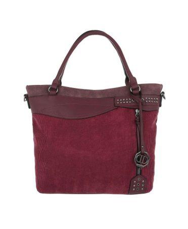 Dudlin Firenze vínově červená kabelka přes rameno materials jq1135 tajq11351bkwine