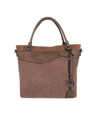Dudlin Firenze hnědá kabelka přes rameno materials jq1135 tajq11351bn