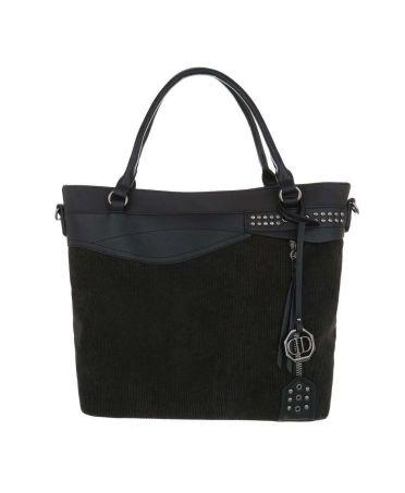 Dudlin Firenze černá kabelka přes rameno materials jq1135 tajq11351bk