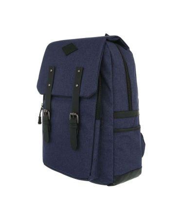 Dudlin Firenze modrý batoh unisex retro 5040 ta50406be