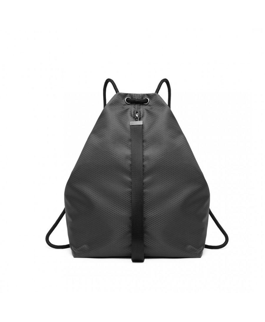 Kono šedý batoh unisex MULTI ACCESS DRAWSTRING 1966 E1966GY