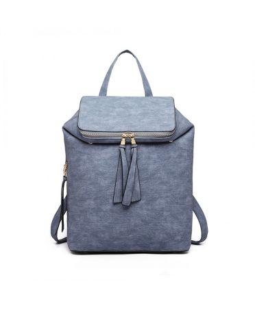 Miss Lulu světle modrý dámský batoh EXPANDABLE 6903 LG6903BE