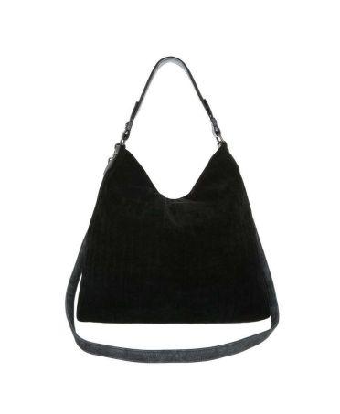 Dudlin Firenze černá hobo kabelka TEXTIL KNITWEAR 2335 ta2335414bk