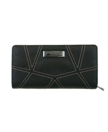 Dudlin Firenze černá dámská peněženka QUILTED 461 gp-m461-black