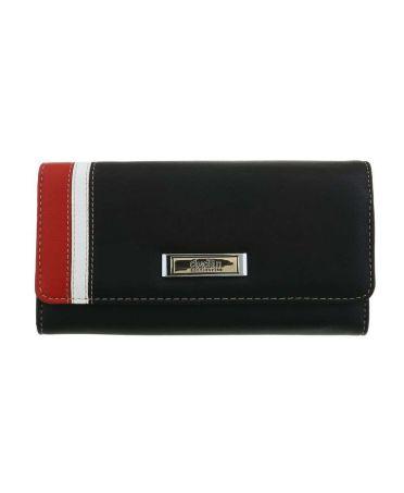 Dudlin Firenze černá dámská peněženka SIDE BAR 589 gp-m589-black
