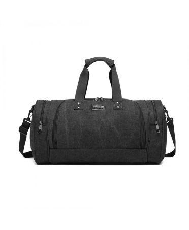 Kono cestovní taška černá unisex CANVAS BARREL 1957 E1957BK