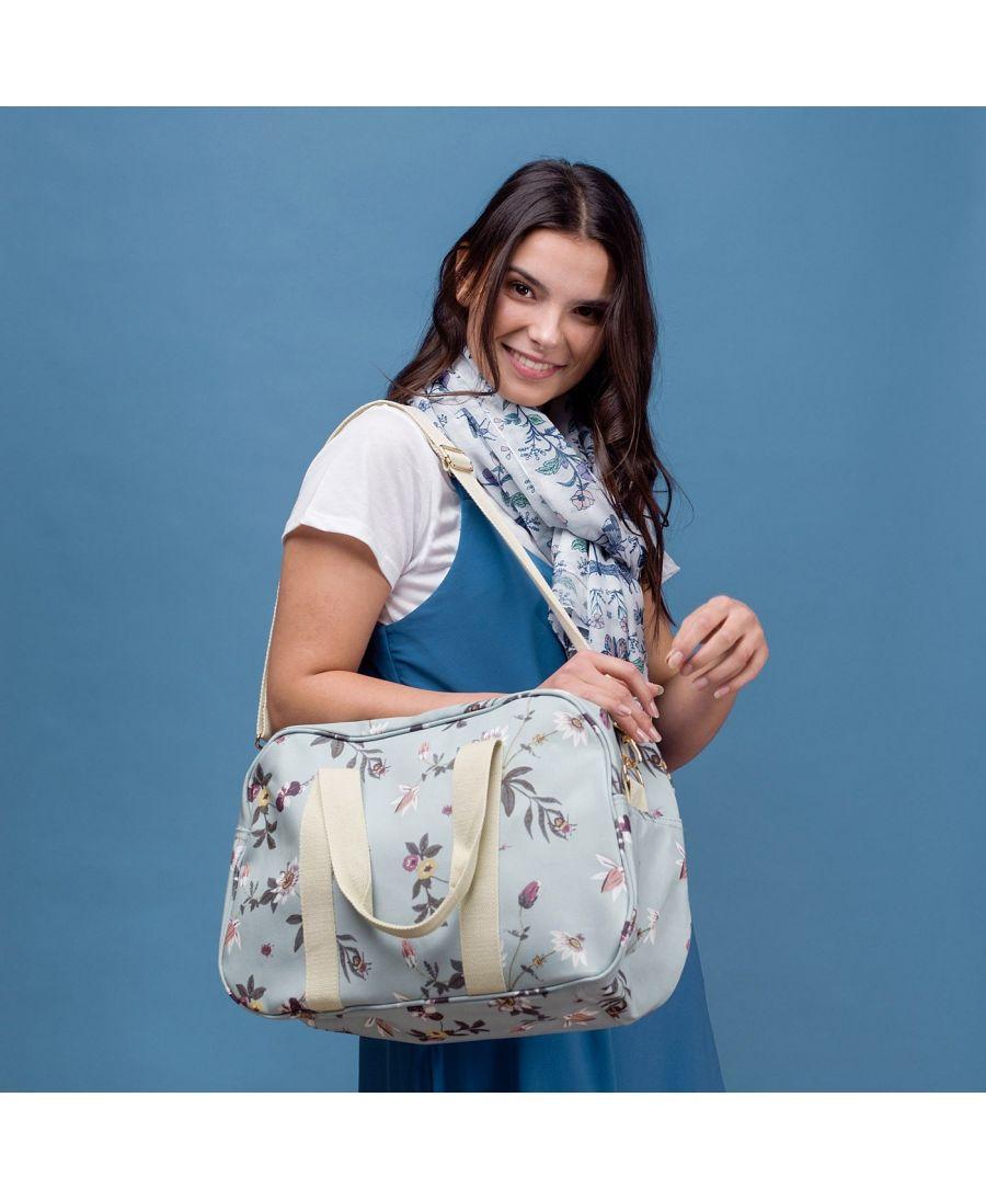 Hazel & Pip dámská víkendová taška světle zelená MYLENE 2664 HC2664c02