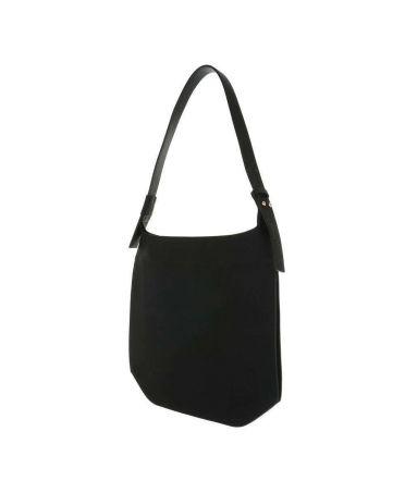 Dudlin Firenze černá minimalistická kabelka 1830 ta1830-31-1-bk