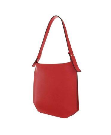 Dudlin Firenze červená minimalistická kabelka 1830 ta1830-31-1-rd
