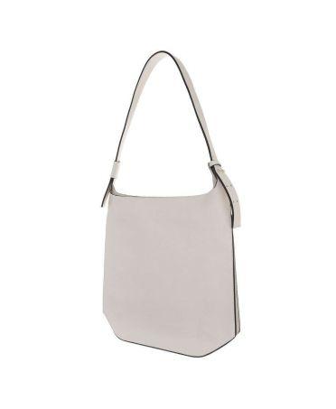 Dudlin Firenze krémová minimalistická kabelka 1830 ta1830-31-1-bg