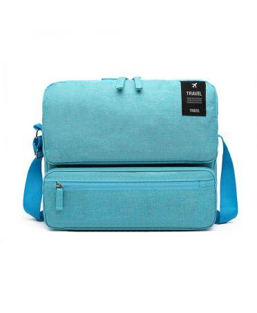 Kono praktická cestovní taška unisex tyrkysová 6851 E6851BE
