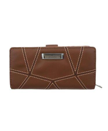 Dudlin Firenze hnědá dámská peněženka QUILTED 461 gp-m461-brown