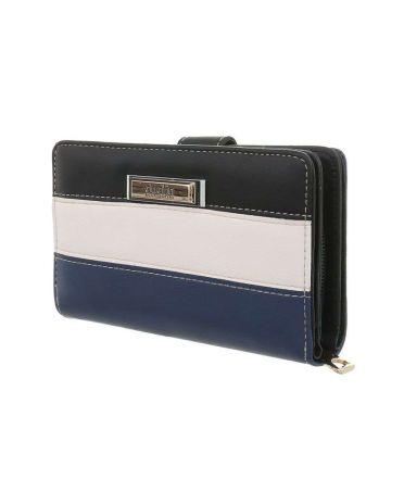 Dudlin Firenze černá-modrá dámská peněženka 380 gp-sm380-black