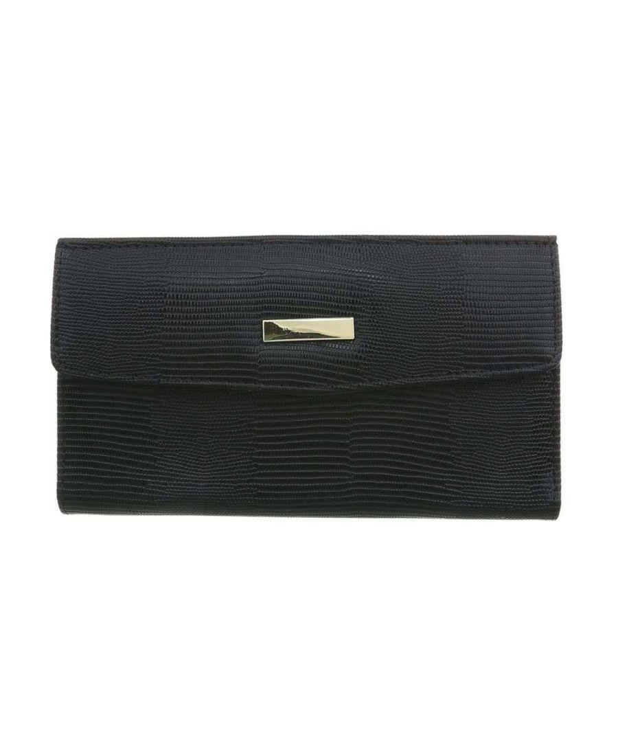 Dudlin Firenze černá dámská peněženka PEARLY 9801 gp-xd9801_black