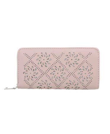 Dudlin Firenze peněženka růžová LASER CUT 6020 GM-dl6020-pink