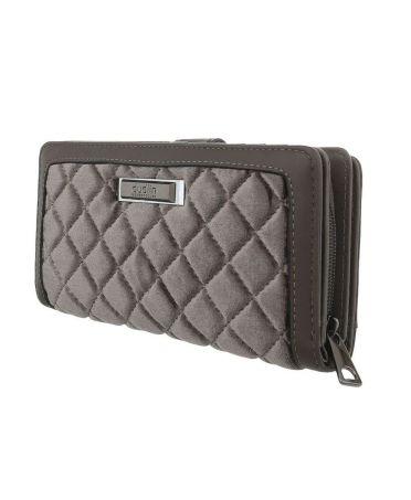 Dudlin Firenze šedá dámská peněženka 481 gp-m481-grey