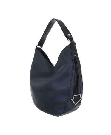 Dudlin Firenze modrá velká shopper kabelka 2235-14 ta2235-14-blue